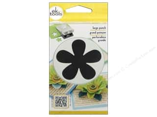 EK Success inches: EK Paper Shapers Punch Large Retro Flower