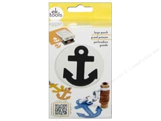Beach & Nautical inches: EK Paper Shapers Large Punch Anchor