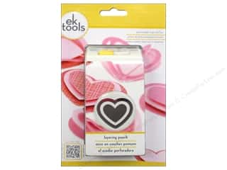 EK Success Valentine's Day Gifts: EK Paper Shapers Punch Layering Heart