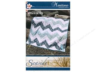McKay Manor Musers Quilt Patterns: Mckay Manor Musers Maritime Zigzag Quilt Pattern
