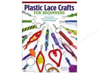 Books Clearance: Design Originals Plastic Lace Crafts For Beginners Book