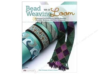 even weave: Design Originals Bead Weaving On A Loom Book