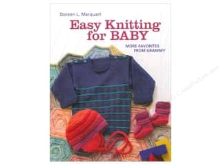 Crochet & Knit: Easy Knitting For Baby Book