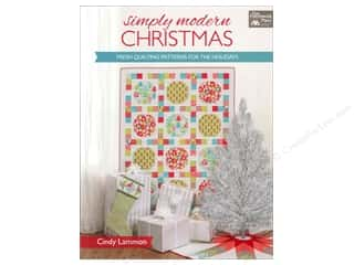 Design Originals $8 - $14: That Patchwork Place A Simply Modern Christmas Book by Cindy Lammon