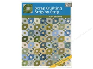 Scrap Quilting, Strip By Strip Book