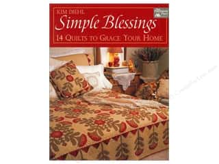 Appliques $3 - $13: Simple Blessings: 14 Quilts to Grace Your Home Book by Kim Diehl