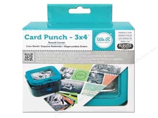 "photo corner paper punch: We R Memory Punch AME Card 3""x 4"" Round Corner"