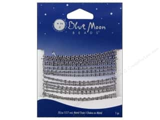 Chains Blue: Blue Moon Beads Small Cable Chain 70 in. Silver