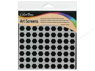 ColorBox Art Screens Stencil Hexagons