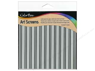 ColorBox Art Screens Stencil Stripes