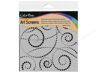 Templates Clearance Patterns: ColorBox Art Screens Stencil Swirldot