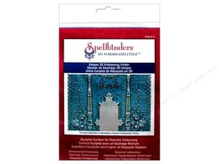 Sculpting Tools: Spellbinders Embossing Folder M Bossabilities 3D Persian Splendor