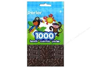 Perler $1 - $3: Perler Beads 1000 pc. Brown