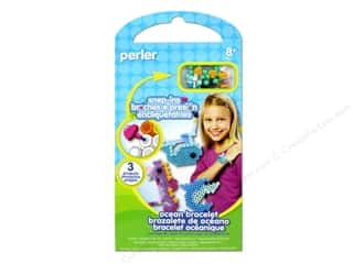 Perler Beach & Nautical: Perler Snap-Ins Activity Kit Ocean Bracelet