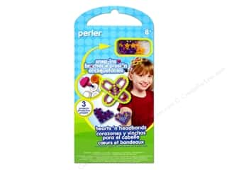 Perler Snap-Ins Activity Kit Hearts 'n Headbands