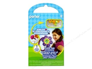 Crafting Kits Flowers: Perler Snap-Ins Activity Kit Flower Hair Accessory