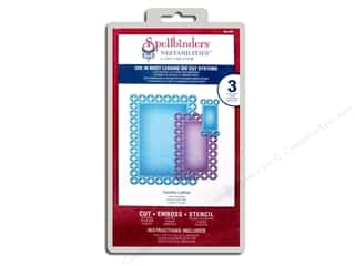 Spellbinders Nestabilities Die Fanciful Lattice