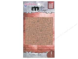 Spellbinders Media Mixage Textured Plate Keys