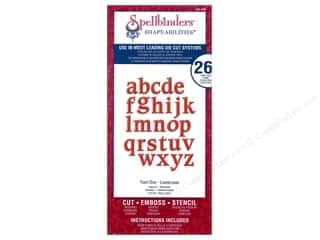 Spellbinders Shapeabilities Die Font One - Lowercase