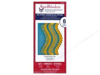 Spellbinders Borderabilities Die Curved Borders Two