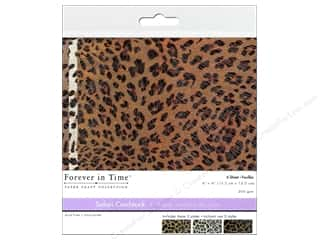 Multicraft Cardstock 6x6 Safari Leopard 1 6pc