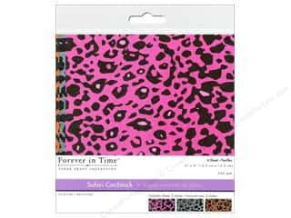 Multicraft Cardstock 6x6 Safari Cheetah 1 6pc