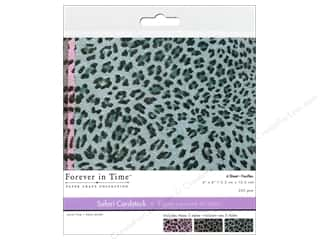 Multicraft Cardstock 6x6 Safari Leopard 2 6pc