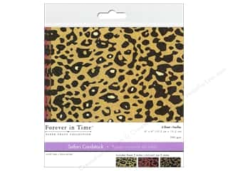 Multicraft Cardstock 6x6 Safari Cheetah 2 6pc