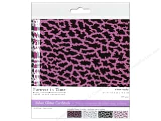 Multicraft Cardstock 6x6 Safari Glitter C 4pc