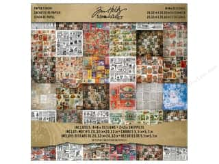Tim Holtz Idea-ology Paper Stash 8x8 Seasonal