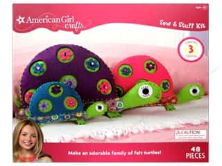 felting kits: American Girl Kit Sew & Stuff Turtle