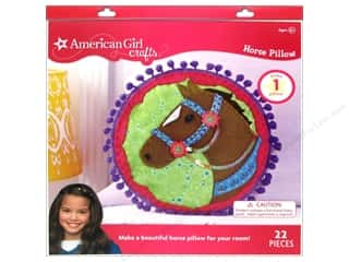 felting kits: American Girl Kit Horse Pillow