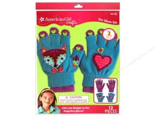 American Girl Kit Fox Gloves Set