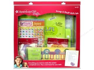 Valentines Day Gifts Stickers: American Girl Scrap & Stuff Book Kit Gift Set