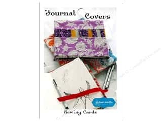 Journal Covers Sewing Card Pattern
