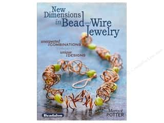 Books & Patterns Sale: North Light New Dimensions In Bead And Wire Jewelry Book by Margot Potter