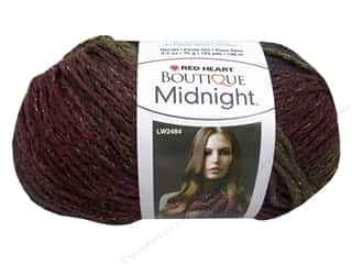 Red Heart Boutique Midnight 2.5 oz. Brocade