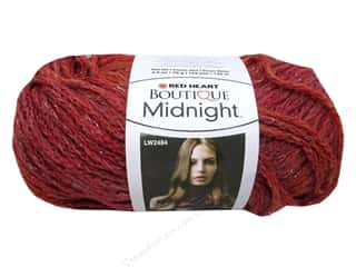 Yarn & Needlework Clearance: Red Heart Boutique Midnight 2.5 oz. Persimmon