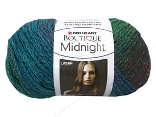 ombre yarn: C&C Red Heart Boutique Midnight 2.5oz Tropical