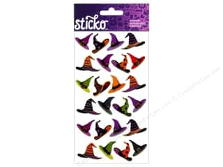 EK Sticko Stickers Witch Hats