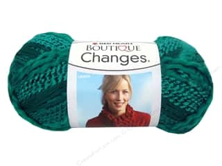 Clearance TLC Essentials Yarn: Red Heart Boutique Changes Yarn 3.5 oz. Turquoise