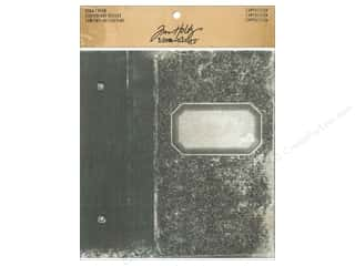 dad & gray: Tim Holtz Idea-ology Worn Cover Composition