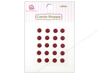 Queen & Company Stickers: Queen&Co Sticker Candy Jellies Round Cinnamon