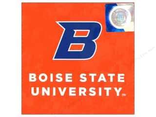 Valentines Day Gifts Paper: Sports Solution Logo Card Set Boise State