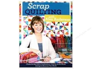 C&T Publishing: Scrap Quilting with Alex Anderson Book