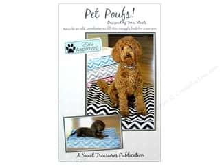 home decor pattern: Sweet Treasures Pet Poofs! Pattern