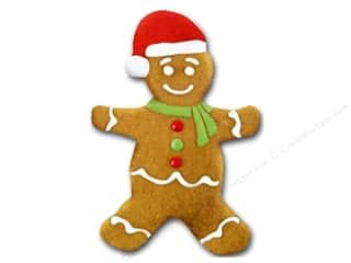 Paper House Diecut Card Gingerbread Man