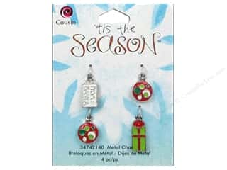 Best of 2013: Cousin Charm Tis The Season Metal Gifts 4pc