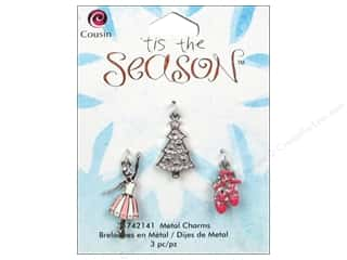 Best of 2013: Cousin Charm Tis The Season Metal Ballet/Tree 3pc