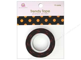 Queen&Co Trendy Tape 10yd Halloween Polkas